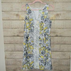 Pappagallo Floral Print Sleeveless Dress